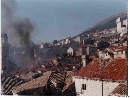 Štete u Gradu, požar